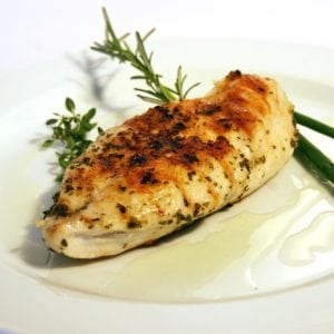 How to cook chicken fillet with lemon and rosemary