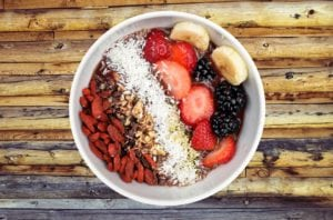What foods contain fiber