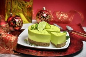 Tropical dessert Key Lime Pie