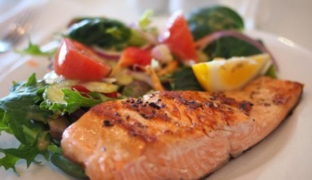 Salmon with Soy-Honey Marinade