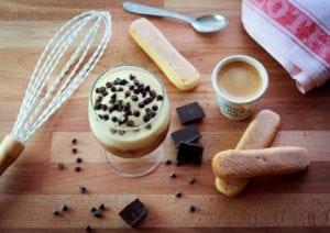 Classic Italian dessert tiramisu