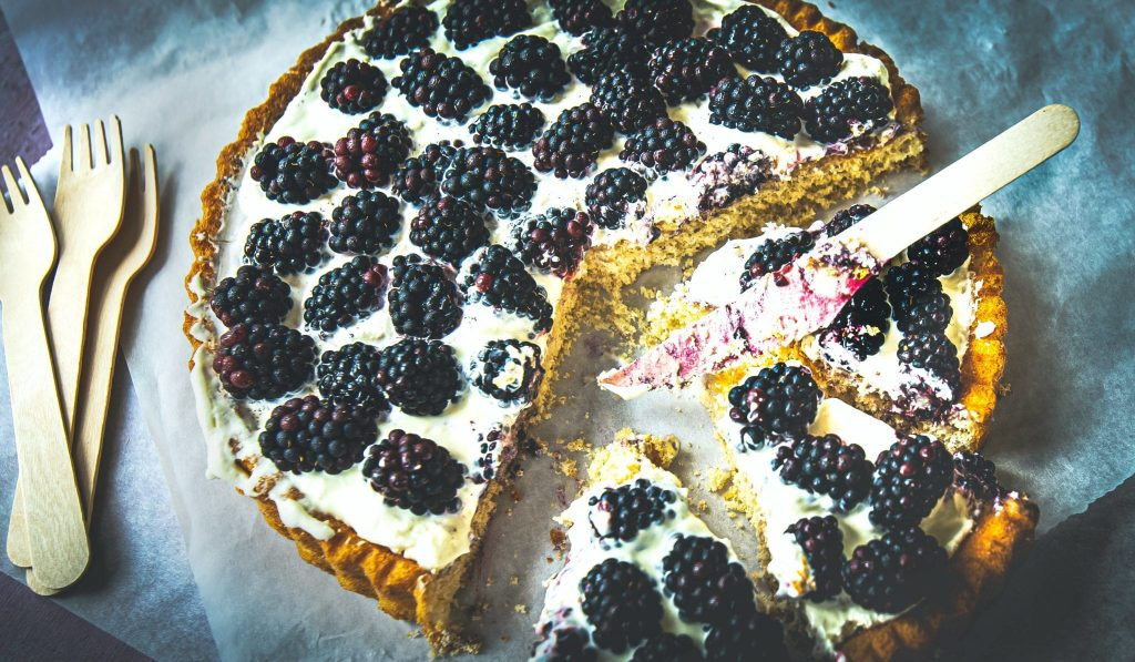 The Simplest Dessert - Pie With Fruit In 30 Minute